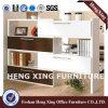 estante de madeira do armário de armazenamento da lima da melamina de 1.6m (HX-FL0043)