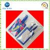PVC Logo Luggage Tag di abitudine per Tourist (JP-LT027)