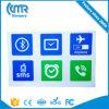 De Kaart van de Markering 13.56MHz RFID van de Stickers Ntag216 van Markeringen NFC voor LG HTC van de Melkweg S5 Note3 S4 Sony Xperia Nokia Nexus4/5 van Samsung