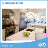2016 رخيصة بيضاء مرو حجارة لأنّ حديثة مطبخ تصميم