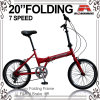 20 Inch-Legierungs-Feld-faltendes Fahrrad (WL-2011A)
