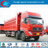 carro de descarga de 20cbm Dongfeng 8X4 con el volumen grande de la carga