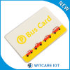 Carte de RFID, carte à puce, carte d'identification, carte sans contact pour l'autobus étiquetant la gestion