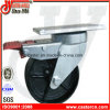 6 Inch Cast Iron Swivel Gabage Bin Caster mit Total Lock