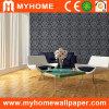 Papier peint profondément de relief de PVC de conception de l'Italie pour le décor à la maison