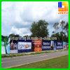 Banderas ULTRAVIOLETA de la calle de la exhibición de la bandera del acoplamiento de la impresión