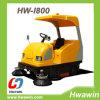 Fahrt auf elektrische Straßen-Kehrmaschine mit Hochleistungs-