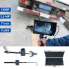 Portable mobile 5.0MP 1080P HD Under Vehicle Inspection Camera DVR System Search Mirror