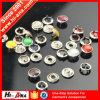 Botón del metal de los colores del arreglo para requisitos particulares seco del ajuste de la alta calidad vario