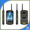 W932 núcleo áspero destravado GPS do quadrilátero do telefone Mtk6582 do Walkietalkie do Ptt do Android 4.2