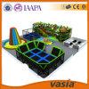 Оценка для спортивной площадки детей парка Trampoline мягкой крытой, большого оборудования дома игры, игрушек парка атракционов сделанных в Китае для сбывания