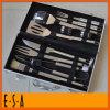 2015 утварь BBQ нержавеющей стали ручного резца установленная для сбывания, дешевый установленный ручной резец кухни для BBQ, BBQ алюминия установленного с 10 PCS T39A004