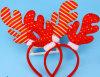 Antlers рождества профессионала СИД качества проблескивая осветили Headwear