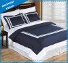 ホテルCollection White Hem 600tc Cotton Duvet Cover Set