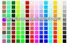 Una varia lamiera sottile di due colori di strato
