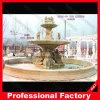 Grande fontaine découpée extérieure de pierre de marbre de sculpture