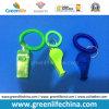 Anillo translúcido y bobina translúcida Keychain del silbido W/Key de la muñeca