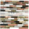 1.5*8 rechthoek 4 Kleur mengde het Opgepoetste Marmeren Mozaïek van de Muur (xd-M119)
