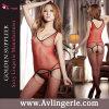 La maille des femmes voient à travers la lingerie érotique d'usure de club (KS14-092)