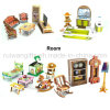 O papel 3D do quarto de Wholesle caçoa o enigma para brinquedos educacionais das crianças