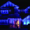Luzes de gota do Natal da decoração da luz do sincelo da cortina do Natal do diodo emissor de luz