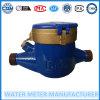 Multi metro ad acqua meccanico ISO4064 del metro ad acqua freddo della manopola asciutta