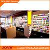 유리제 상점 이동 전화 전시 진열장을%s 가진 현대 주문 소매 이동 전화 상점 실내 디자인 그리고 훈장