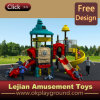Patio al aire libre feliz seguro confiable del niño de la combinación agradable (X1508-4)