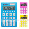 Big Rubber Key (LC318)를 가진 8개의 손가락 Big Key Dual Power Pocket Calculator