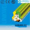 Bloco terminal da terra plástica (LUSLKG 2.5)
