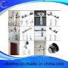 Acessórios para ferragens para portas de celeiro deslizantes para casa de banho de madeira / vidro