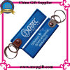 Textile Key Chain avec Wovern/Embroidery Logo
