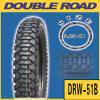 3.00-17 Neumático de la motocicleta del certificado del fabricante de China