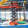 Auto-Propelled Scissor Lift Elevator di 250kgs Durable Structure