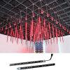 Iluminación multicolora del tubo del techo LED de DMX