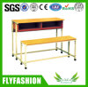 Lage school Children Double Desk en Bench (sf-32D)