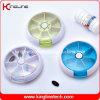 플라스틱 돌릴수 있는 환약 상자 (KL-9032)