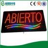 열리는 표시 (HAS0004가)를 광고하는 LED Abierto 표시 LED
