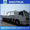 10t 12tクレーントラックによって取付けられるクレーンへのSinotruk 5t