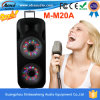 두 배 15 Inches Disco Light Plastic portable Speaker