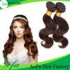 Бразильские человеческие волосы Remy для естественной черноты и Brown
