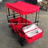 Vagão de dobramento com dossel & o saco refrigerando - saco vermelho Tc1011