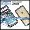 Shockproof imperméable à l'eau Dirtpoof Protection Point de droit Cover pour l'iPhone 6 d'Apple