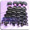 Do Virgin frouxo não processado da onda de 100% Weave peruano do cabelo humano de Remy