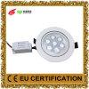 luz de teto AC85-265V da lâmpada de painel da iluminação do diodo emissor de luz 7W