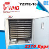Anhalten von 2376 Ei-automatischen Huhn-Inkubator-Eiern