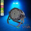 54*3W Light, diodo emissor de luz PAR Light de Waterproof