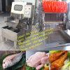 دجاجة تجاريّة ملحيّة يحقن آلة