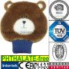 Couverture animale de bouteille d'eau chaude de jouet de peluche de l'ours EN71