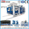 Machines de fabrication de brique Qt12-15 concrètes complètement automatiques chaudes